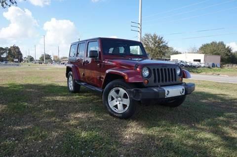 2012 Jeep Wrangler Unlimited for sale in Ocoee, FL