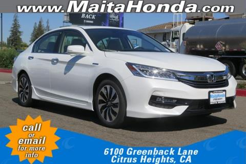 2017 Honda Accord Hybrid for sale in Citrus Heights, CA