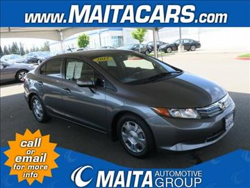 2012 Honda Civic for sale in Citrus Heights, CA