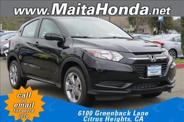 2017 Honda HR-V for sale in Citrus Heights, CA
