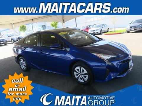 2016 Toyota Prius for sale in Citrus Heights, CA