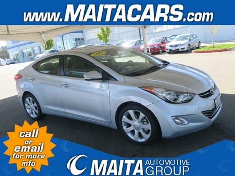 2013 Hyundai Elantra for sale in Citrus Heights, CA