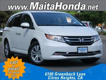 2016 Honda Odyssey for sale in Citrus Heights, CA