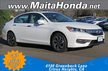 2017 Honda Accord for sale in Citrus Heights, CA