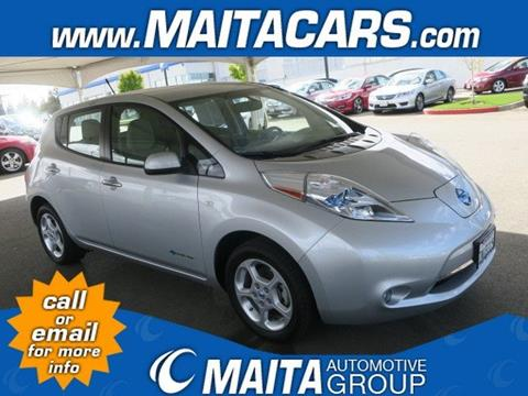 2012 Nissan LEAF for sale in Citrus Heights, CA