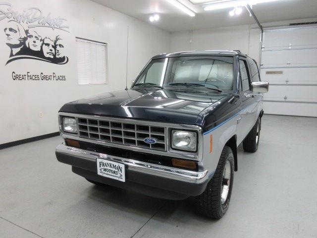 1987 Ford Bronco Ii 2dr Xlt 4wd Suv In Sioux Falls Sd