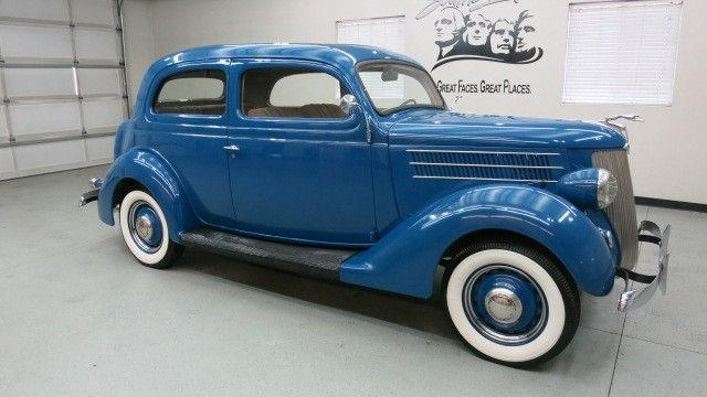 1936 Ford Model 68 Tudor 2 Dr Sedan W Trunk In Sioux