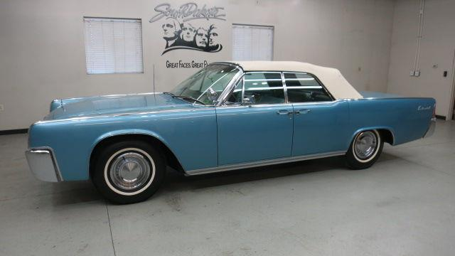 1963 Lincoln Continental 4 Dr Convertible In Sioux Falls