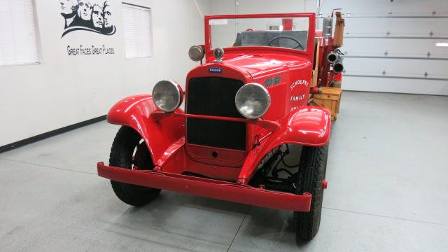 1931 Dodge Fire Truck In Sioux Falls Sd Frankman Motor