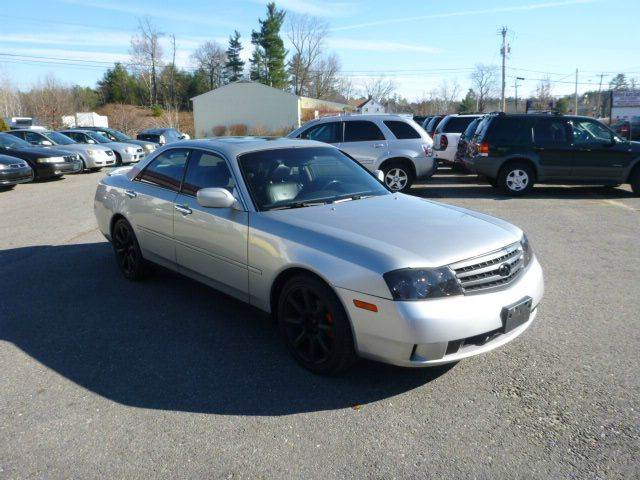 2003 infiniti m45 for sale in milford nh. Black Bedroom Furniture Sets. Home Design Ideas