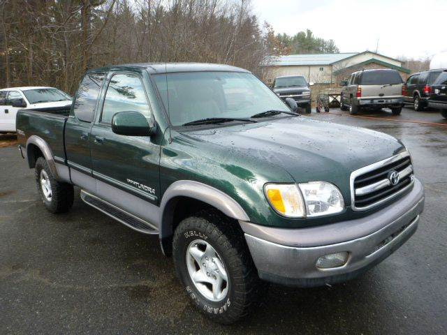 2001 toyota tundra 4dr access cab limited v8 4wd sb in milford nh milford auto outlet. Black Bedroom Furniture Sets. Home Design Ideas