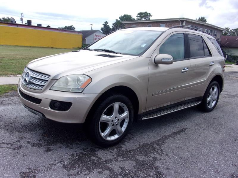 2007 Mercedes Benz M Class Awd Ml 320 Cdi 4matic 4dr Suv In Metairie