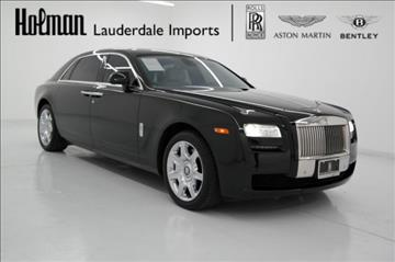 2012 Rolls-Royce Ghost for sale in Fort Lauderdale, FL