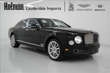 2016 Bentley Mulsanne for sale in Fort Lauderdale, FL
