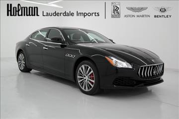 2017 Maserati Quattroporte for sale in Fort Lauderdale, FL