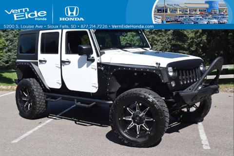 2014 Jeep Wrangler Unlimited for sale in Sioux Falls, SD