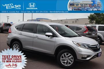 2016 Honda CR-V for sale in Sioux Falls, SD
