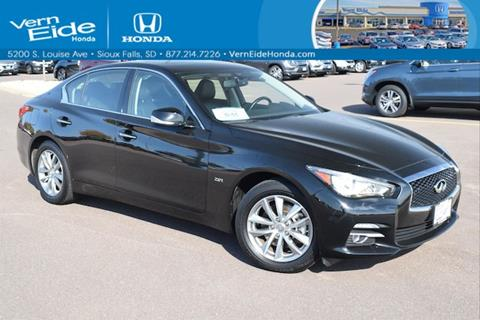 2016 Infiniti Q50 for sale in Sioux Falls, SD