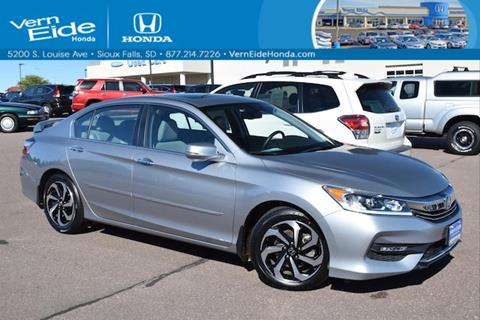 2016 Honda Accord for sale in Sioux Falls, SD