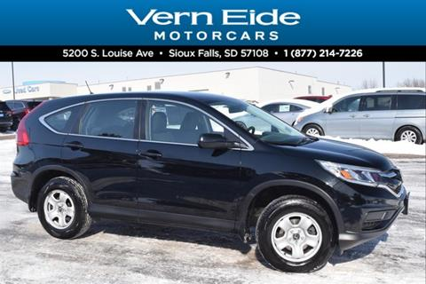 2016 Honda CR-V for sale in Sioux Falls, SD