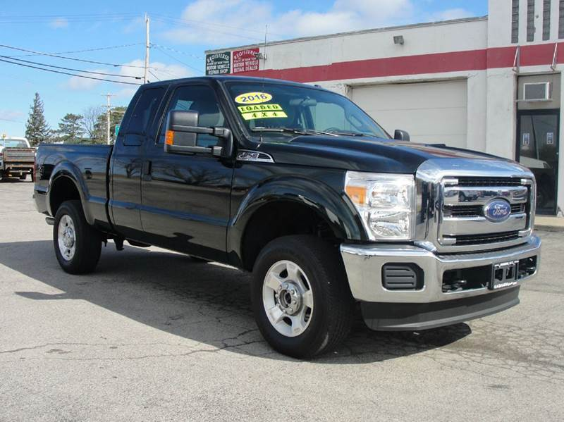 2016 Ford F-250 Super Duty 4x4 XLT 4dr SuperCab 6.8 ft. SB Pickup - Bergen NY