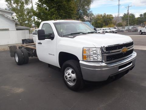 2012 Chevrolet Silverado 3500HD CC for sale in Pocatello, ID