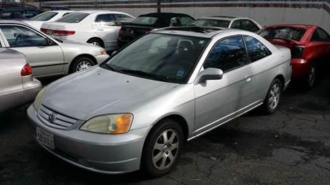 2003 Honda Civic for sale in El Monte, CA