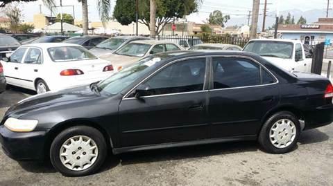 2001 Honda Accord for sale in El Monte, CA