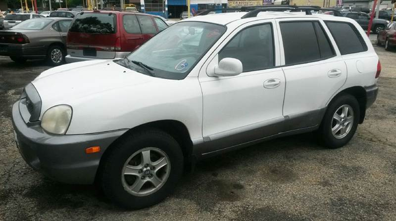 2004 hyundai santa fe gls 4dr suv in milwaukee wi big bills. Black Bedroom Furniture Sets. Home Design Ideas