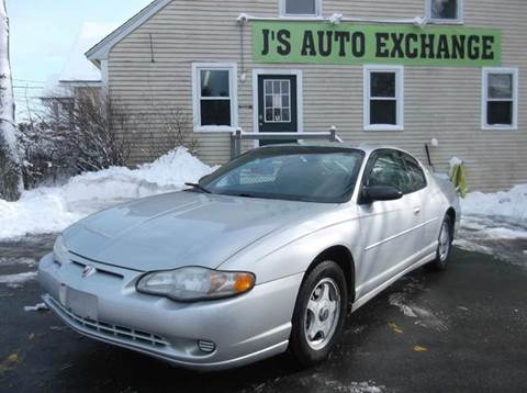 2001 Chevrolet Monte Carlo for sale in Derry, NH