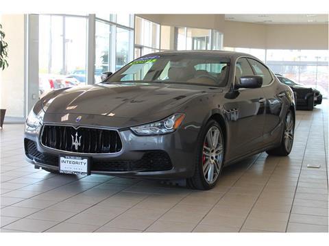 2014 Maserati Ghibli for sale in Sacramento, CA
