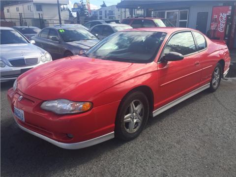 2001 Chevrolet Monte Carlo for sale in Seattle, WA