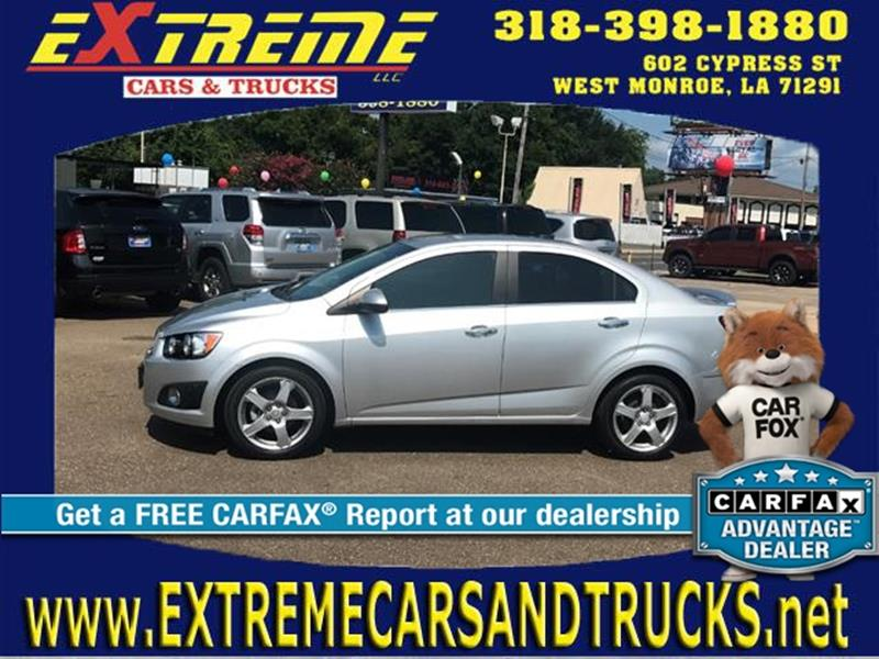 Used Chevrolet Sonic For Sale In West Monroe La