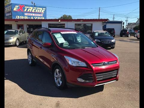 2014 Ford Escape 2014 Ford Escape ... & Ford Used Cars financing For Sale West Monroe Extreme Cars and ... markmcfarlin.com