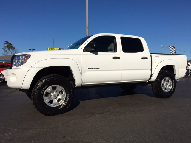 2008 toyota tacoma 4x2 prerunner v6 4dr double cab 5 0 ft sb 5a in myrtle beach sc. Black Bedroom Furniture Sets. Home Design Ideas