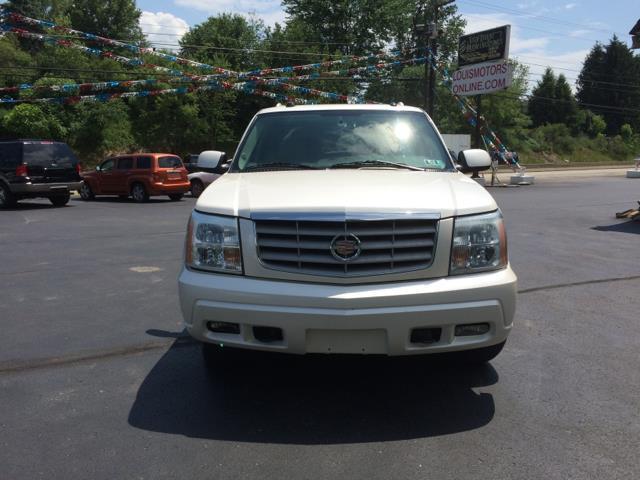 2004 Cadillac Escalade Base AWD 4dr SUV - Connellsville PA