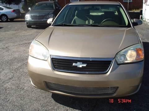 2006 Chevrolet Malibu for sale in Salisbury, NC