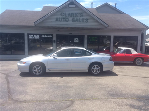 2002 Pontiac Grand Prix for sale in Middletown, OH