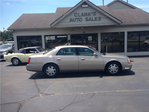 2004 Cadillac DeVille for sale in Middletown, OH