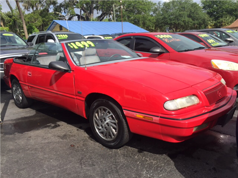 1993 Chrysler Le Baron for sale in New Smyrna Beach, FL