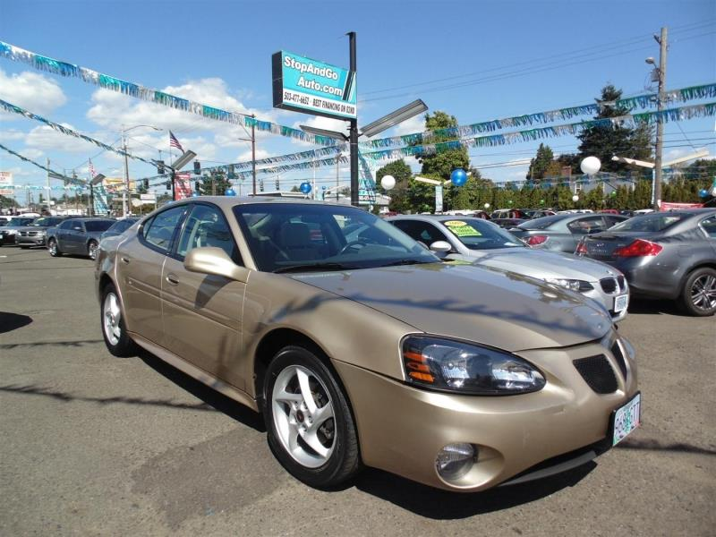 2004 pontiac grand prix gtp 4dr supercharged sedan in portland or stop and go auto. Black Bedroom Furniture Sets. Home Design Ideas