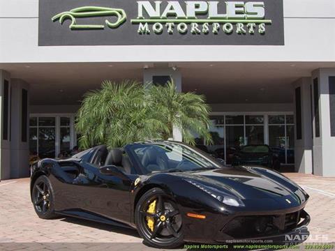 2017 Ferrari 488 Spider for sale in Naples, FL