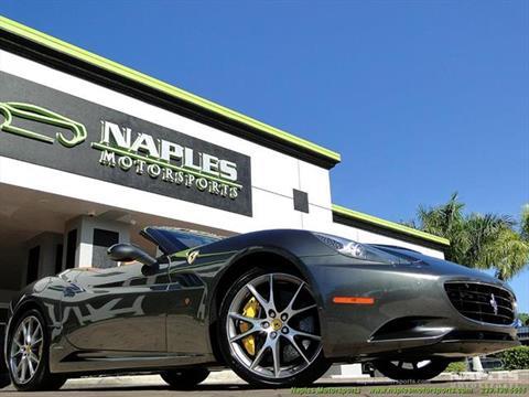 2011 Ferrari California for sale in Naples, FL
