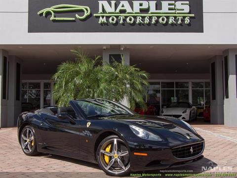 2010 Ferrari California for sale in Naples, FL
