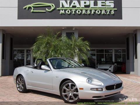 2004 Maserati Spyder for sale in Naples, FL
