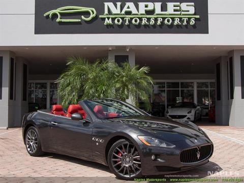 2010 Maserati GranTurismo for sale in Naples, FL