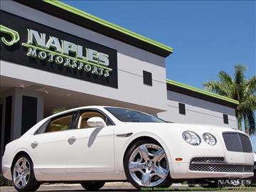 2014 Bentley Flying Spur for sale in Naples, FL
