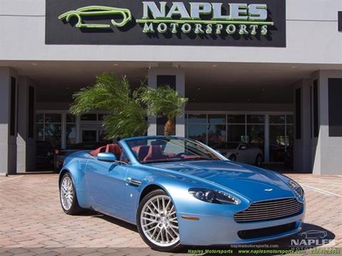 2009 Aston Martin V8 Vantage for sale in Naples, FL