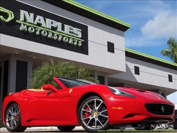 2012 Ferrari California for sale in Naples, FL