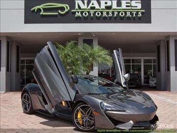 2017 McLaren 570S for sale in Naples, FL